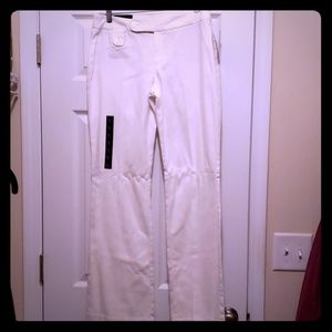 NWT Banana Republic white pants size 6